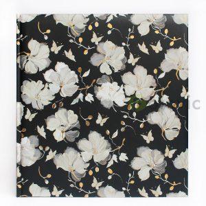 Фотоальбом Goldbuch 27332 Цветы на чёрном 60 белых страниц 26х30