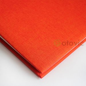 Фотоальбом Goldbuch 27706 Лен Оранжевый 60 белых страниц 26х30
