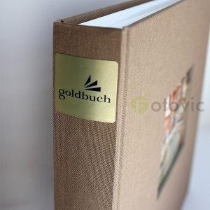 Фотоальбом Goldbuch 27716 Лен Цвет кофе 60 белых страниц 26х30