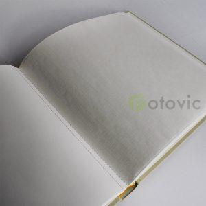 Фотоальбом Goldbuch 27724 Лен Цвет лайм 60 белых страниц 26х30
