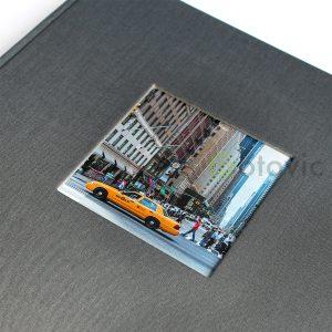 Фотоальбом Goldbuch 27725 Серый  60 белых страниц 26х30