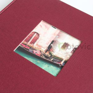 Фотоальбом Goldbuch 27892 Бордовый  60 белых страниц 26х30