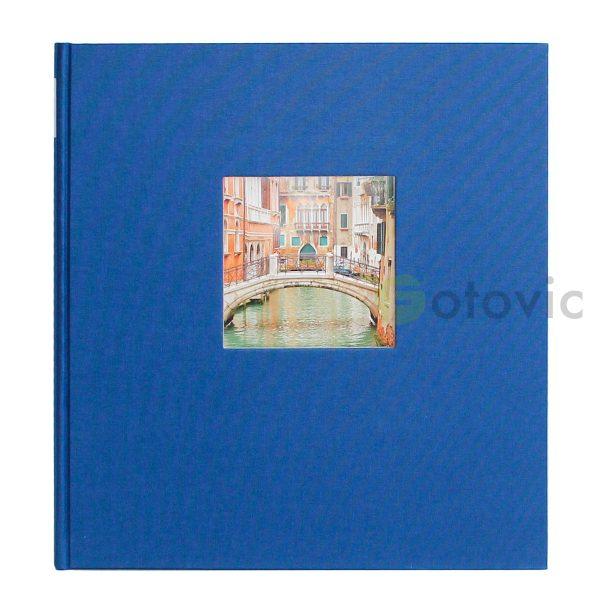 Фотоальбом Goldbuch 27975 Синий  60 черных страниц 26х30