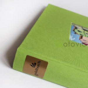 Фотоальбом Goldbuch 27976 Зеленый  60 черных страниц 26х30