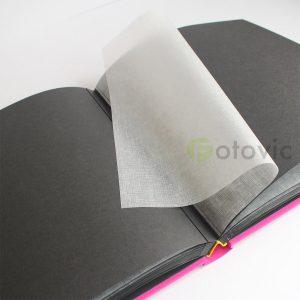 Фотоальбом Goldbuch 27978 Розовый  60 черных страниц 26х30