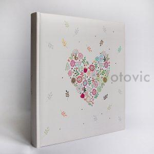 Фотоальбом Goldbuch 8182 Сердце 60 белых страниц 26х30