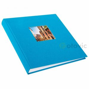 Фотоальбом Goldbuch 27893 Голубой 60 белых страниц 26х30
