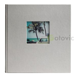 Фотоальбом под уголки Goldbuch 27943 Серый  60 черных страниц 26х30