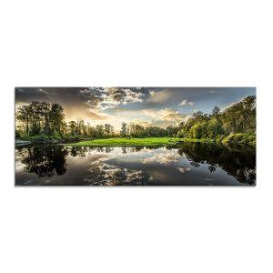 Styler репродукция на стекле Природа  GL-00655  50X125см