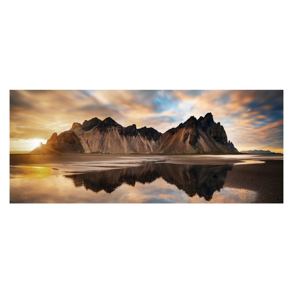 Styler  репродукция на стекле Исландия GL00936 50X125см