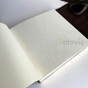 Кожаный фотоальбом Tezoro Albino