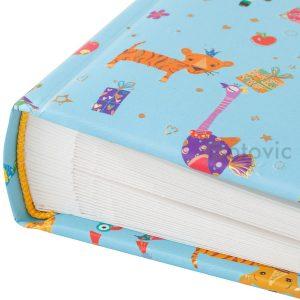 Фотоальбом Goldbuch 15442 Маленькие зверушки-синий 60 белых страниц 26х30