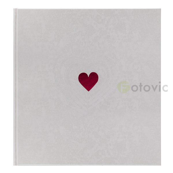 Фотоальбом Goldbuch 27015 Маленькое сердце 60 белых страниц 26х30