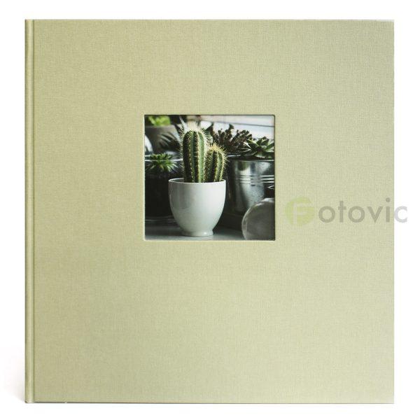 Фотоальбом Goldbuch 27944 Светло-зеленый 60 черных страниц 26х30
