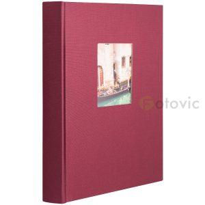 Фотоальбом Goldbuch 27972 Бордовый 60 черных страниц 26х30