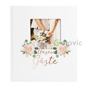 Фотоальбом Goldbuch 8188 Just Married 60 белых страниц 26х30