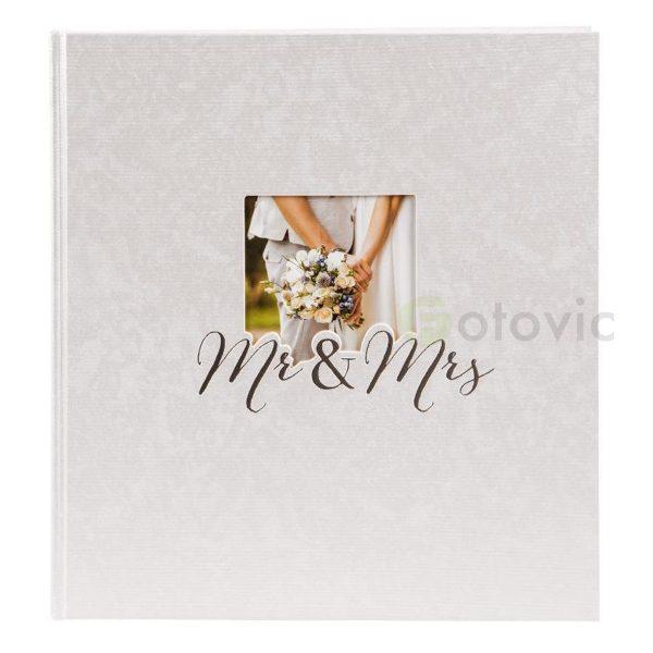 Фотоальбом Goldbuch 8388 Mr.&Mrs 60 белых страниц 26х30