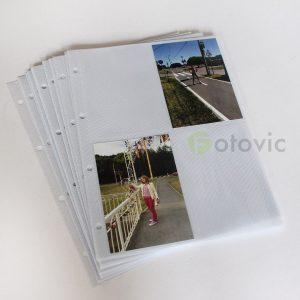 Дополнительные листы Hofmann 9720 160 фото 10х15 для альбомов с кольцами