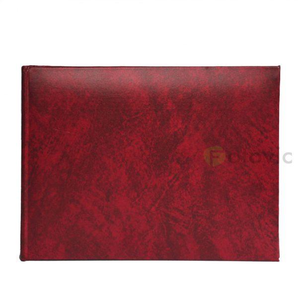 Фотоальбом HENZO 10002 03 красный 21.5х16 50 белых страниц