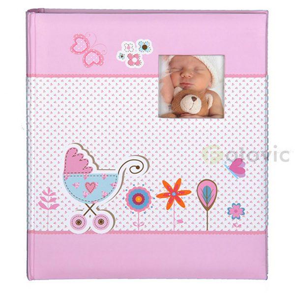 Фотоальбом детский HENZO 98410 12 Baby Moments розовый 10x15 36 фото
