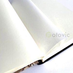 "Фотоальбом кожаный Tezoro ""Питон"" 80 страниц 33х25"