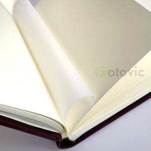 Кожаный фотоальбом Tezoro Бордо 80 страниц