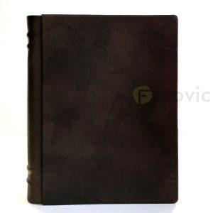 Кожаный фотоальбом Tezoro Old Book 80 страниц