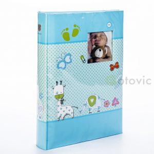 Фотоальбом детский HENZO 98407 07 Baby Moments голубой 10x15 300 фото