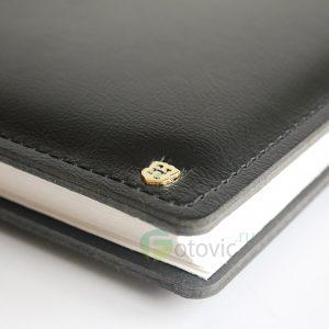 Фотоальбом HENZO 1107708 34x31 100 белых страниц Gran Cara черный