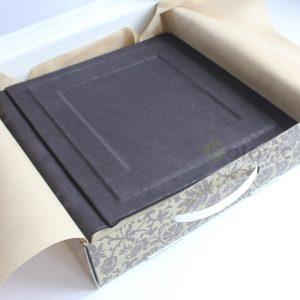 Кожаный фотоальбом Tezoro Remmini 100 страниц
